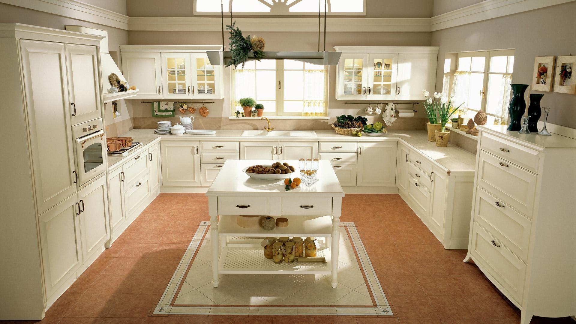 Cucine Classiche | Centro Cucina