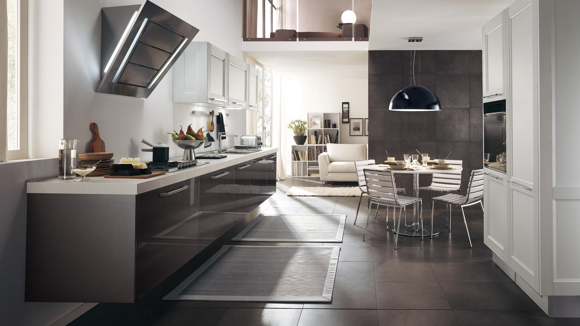 Cucine centro cucina for Aprire piani moderni