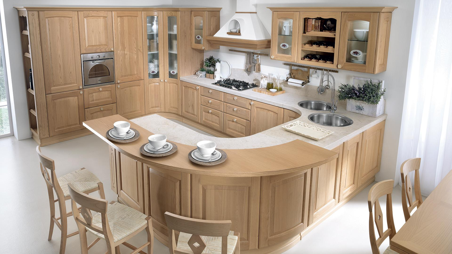Cucine centro cucina for Cucine classiche