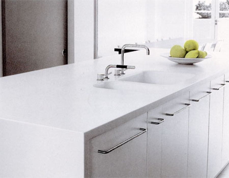 Emejing corian top cucina contemporary home interior - Piano cucina in corian prezzi ...