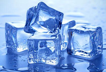 ghiaccio nel frigorifero